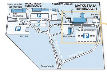 parking airport Tampere