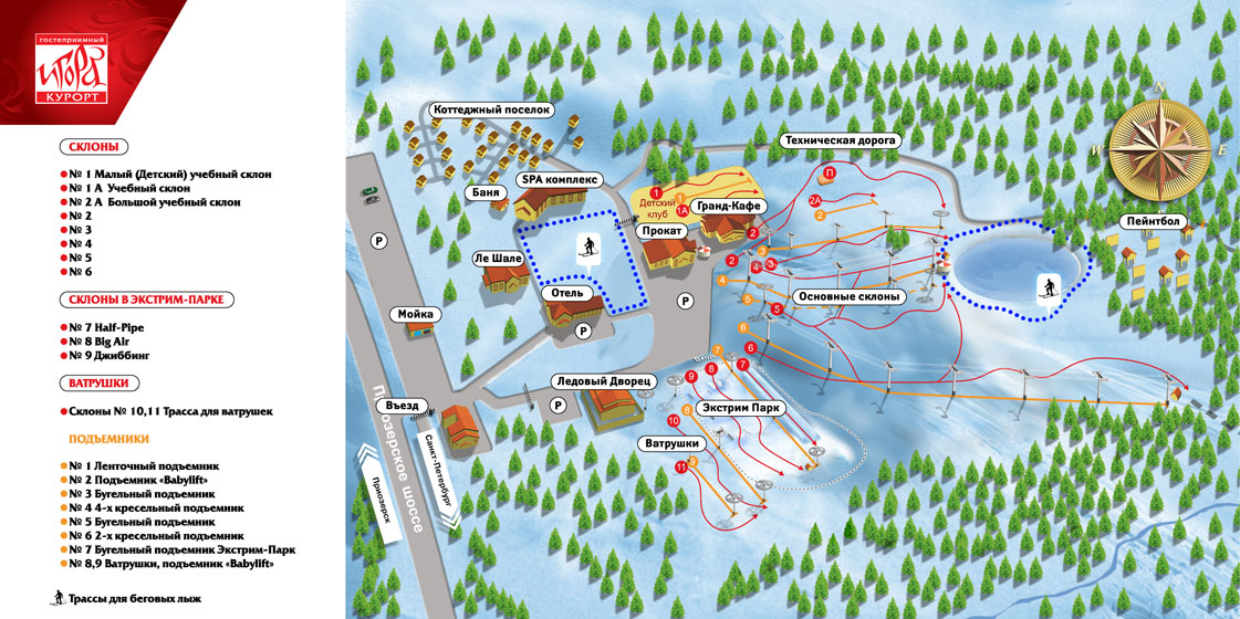 Igora map