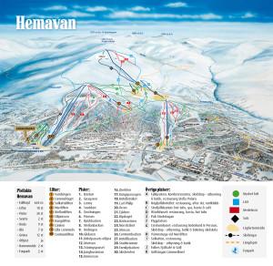 Hemavan Map