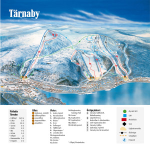 Tarnaby Map